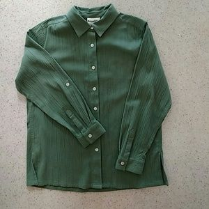 Appleseed's Tops - Appleseed's Blouse matches with striped pants