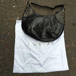 Michael Kors leather studded bag!