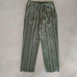 Appleseed's Pants - Appleseed's Pull on Pants match with olive blouse