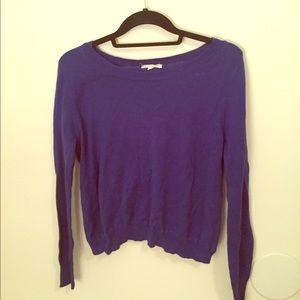 Sweaters - Open back sweater