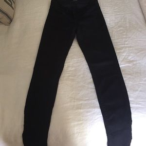 J brand Coated Skinny Jeans size 25