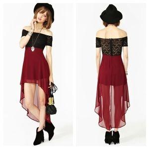 Nasty Gal Dresses & Skirts - Juliet Tail Dress💃🏻