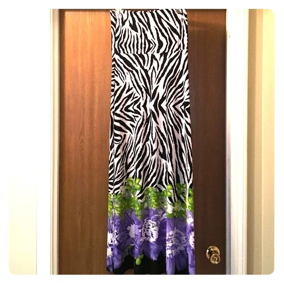 56 dress barn dresses skirts zebra and floral