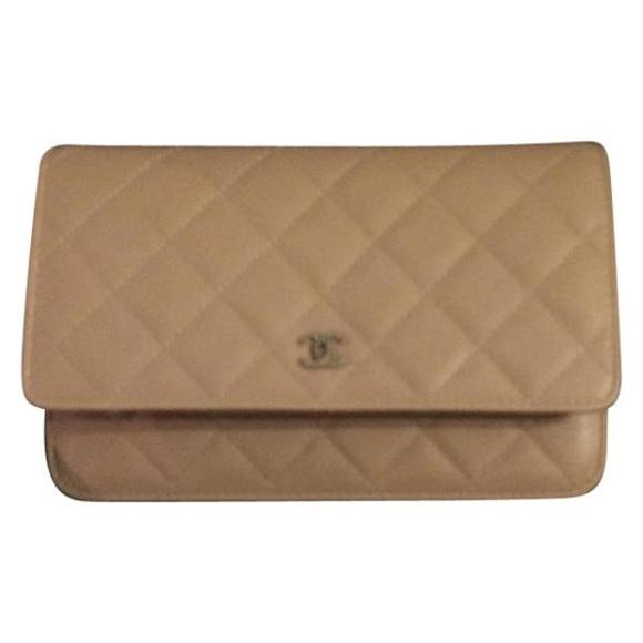 9f31f688fa10 CHANEL Bags | Sold Beige Caviar Newbox 2016 Woc Wallet | Poshmark