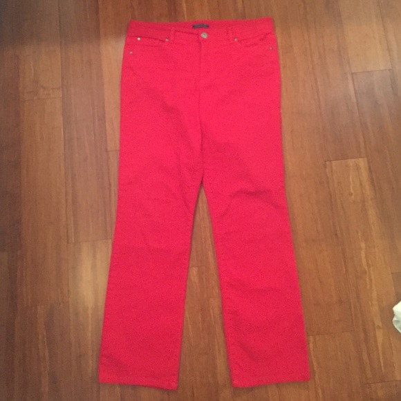 Bandolino Denim - Bandolino red jeans