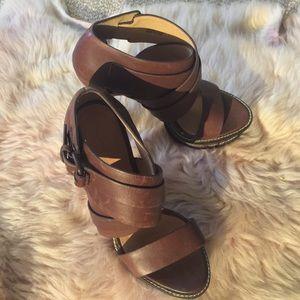 L.A.M.B. Shoes - Anika Platform Sandals by L.A.M.B (Lamb)