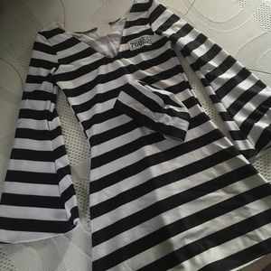 California costume Dresses & Skirts - Jail/ inmate costume with hat