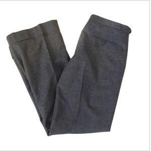 DKNY Wool Cashmere Blend Wide Leg Pants, 6
