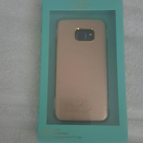 new arrival 115c3 106fa Kate Spade s7 edge case- samsung NWT