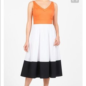 eshakti Dresses & Skirts - Eshakti Color Block Dress