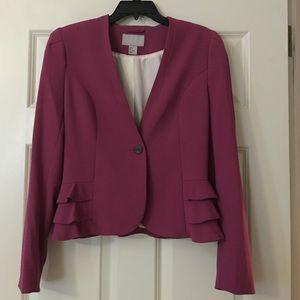 Cranberry suit jacket