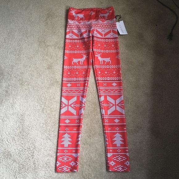 28614a3094bb07 Goldsheep Pants | Christmas Winter Inspired Leggings | Poshmark