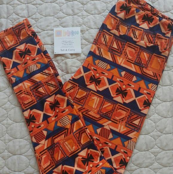 17cd9733a92f84 LuLaRoe Pants | Tc Pilgrim Turkey Leggings | Poshmark