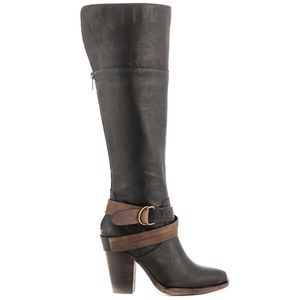 Steve Madden Shoes - Steve Madden Leather Buckle Boots
