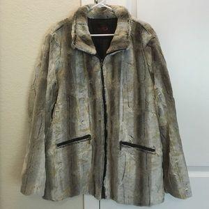 Yoki Jackets & Blazers - Yoki New York Collection Luxe Vegan Fur Outwear.