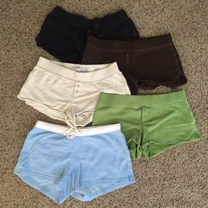 Old Navy Pants - Lot of 5 Cotton Short Shorts XS 4 Old Navy, 1 A&F