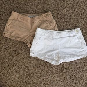 Old Navy Pants - Lot of 2 Old Navy Side Zip Shorts