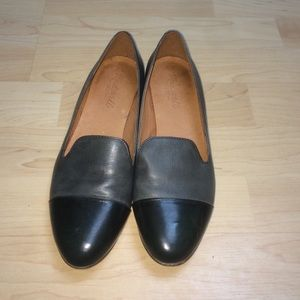 Madewell two tone loafers