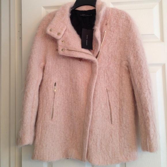 65% off Zara Jackets & Blazers - 🎉HOST PICK! ZARA BLUSH MOHAIR ...