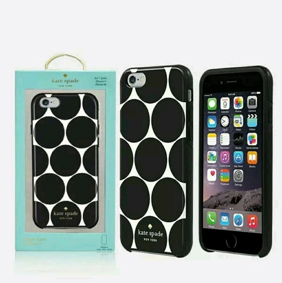 the best attitude 59ae3 e0ada NIB Kate Spade iPhone 6/6s Flexible Hardshell case Boutique