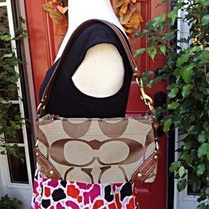 Coach Handbags - Small Coach Carly Signature Shoulder Bag