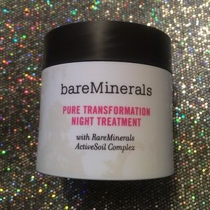 bareMinerals pure transformation night treatment