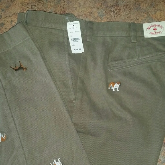 40 34 Dog Embroidered Chinos bc1a6c84e