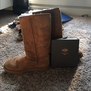 Chestnut Ugg Boots w/ Cleaner