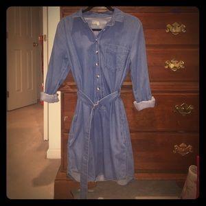 Denim Topshop Dress Size 6