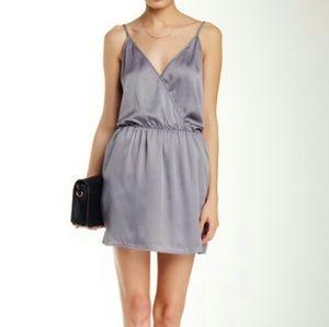 WAYF Satin Mini Dress