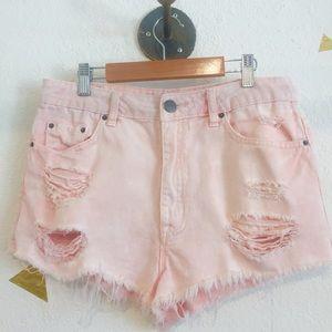 BDG Light Pink Shorts