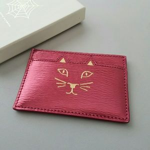 Charlotte Olympia Accessories - Charlotte Olympia Feline Card Holder