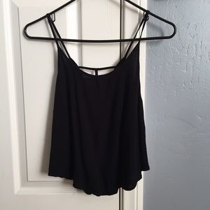 Que Tops - Tapered crop top
