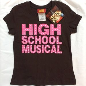 Disney Other - Disney's High School Musical Marquee Brown T-Shirt