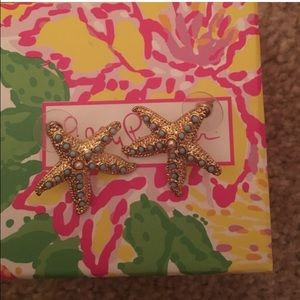 Lilly Pulitzer starfish earring
