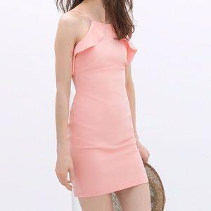Zara Ruffled Tube Dress