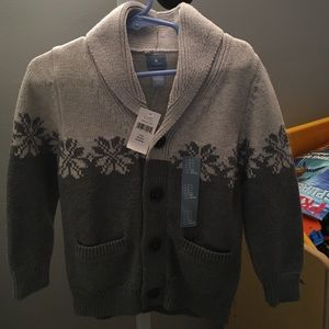 Baby Gap Other - NWT baby gap boys button up sweater