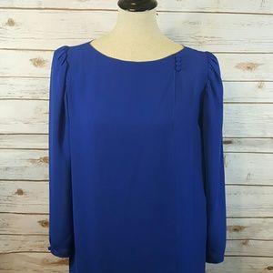 {vintage} Royal blue dress