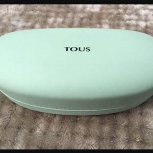 Tous Accessories - Tous Mint Blue Green Sunglasses Case