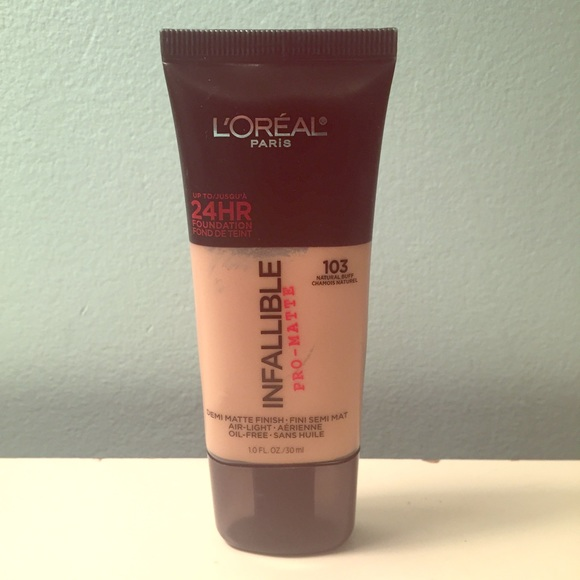 100% high quality fashion style get new Loreal Pro-Matte Foundation 103 Natural Buff