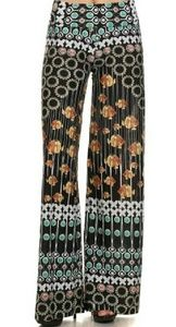 Sold out Sunflower Fish Print Palazzo Pants