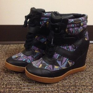 Forever 21 Wedge Sneakers