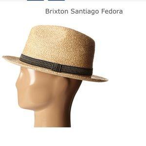 8460faffef864 Brixton Accessories - Brixton Santiago Fedora