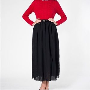 Double Layer Chiffon Maxi skirt XS/S
