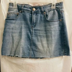 Charlotte Russe Dresses & Skirts - Closet CLEAROUT sale Celebrity Pink Denim Mini