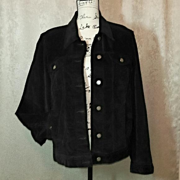 7b24e7f6992 Calvin Klein Jackets   Blazers - Calvin Klein Black Corduroy Jacket