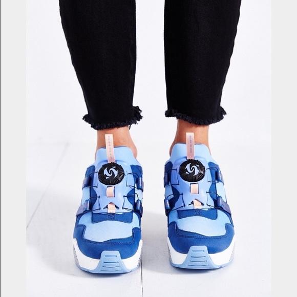 b6eff61b180 Puma x Sophia Chang disc wedge sneakers 🎀✨