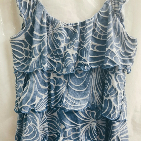Express Tops - CLOSET CLEAROUT SALE Express Ruffle Tiered Tee