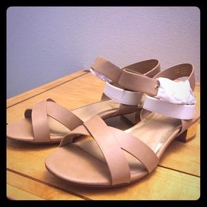 Head Over Heels Shoes - NEVER Worn sandals. Perfect condition.