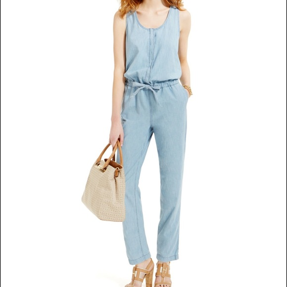 1477c2d9da66 Tommy Hilfiger- Denim Jumpsuit